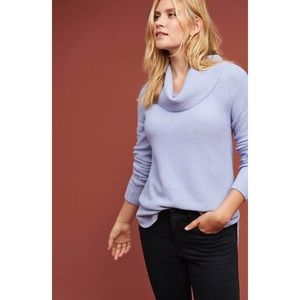 NWT Anthropologie Brent Cowl Neck Pullover